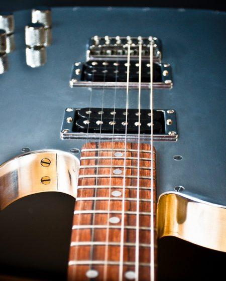 Specimen Custom Aluminum Tele Deluxe Guitar