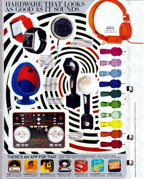 ELLE Magazine features Specimen Little Horn Speakers