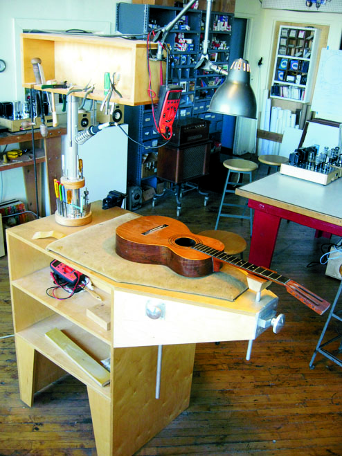 workbench guitar building
