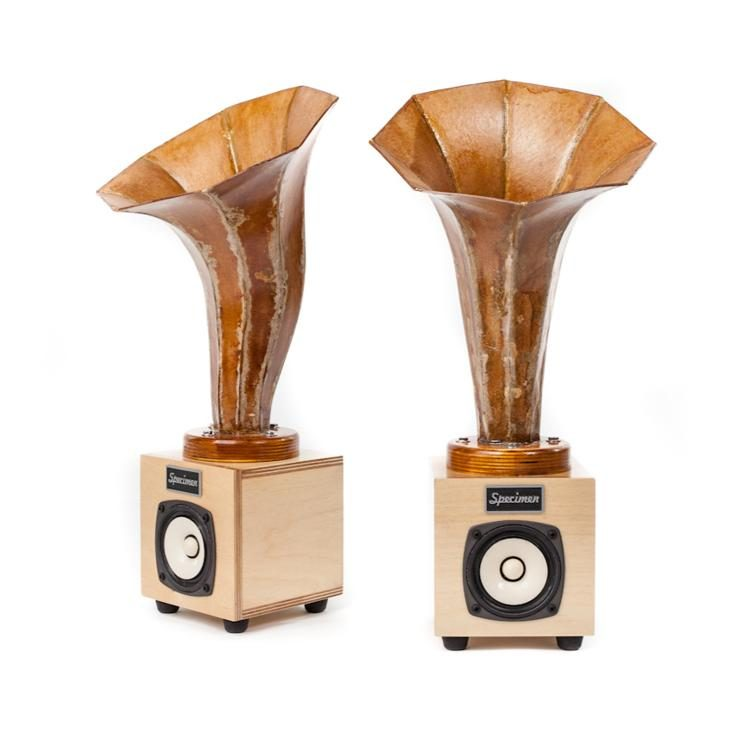 Specimen Custom Hornlet Audio Speakers