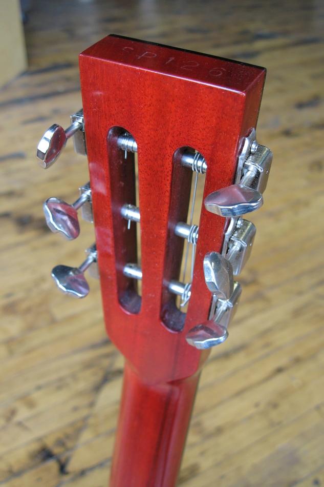 Specimen Luddite Guitar Headstock Back
