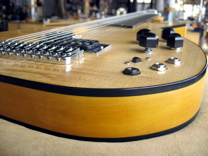 Electric Lute Body
