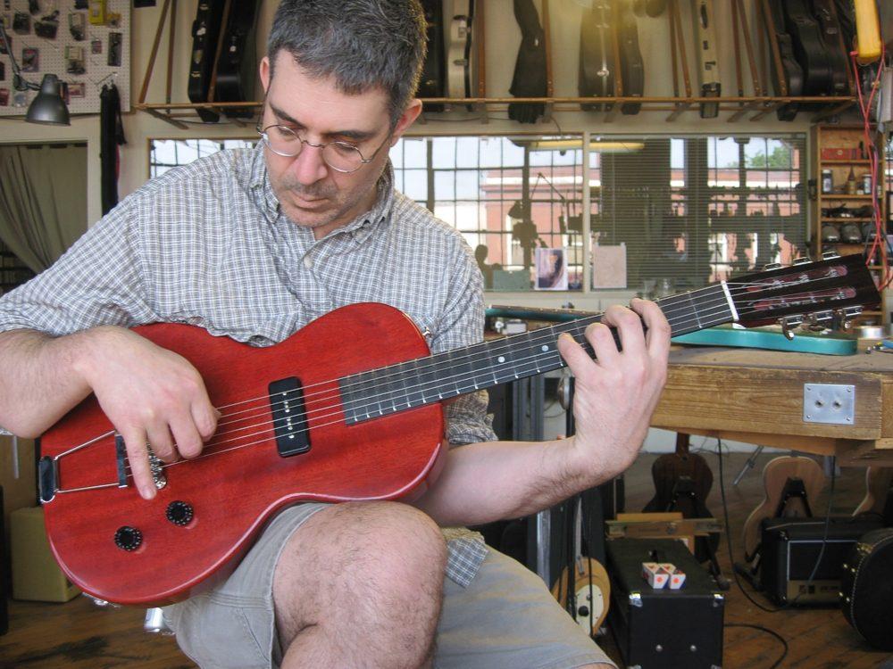 Specimen Luddite Guitar and luthier Ian Schneller