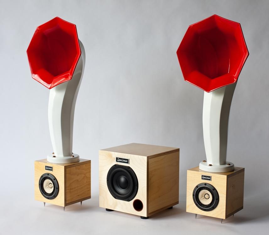 Little Horns 36 Inch Audio Horn Speakers