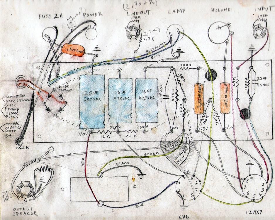 8 Watt Tube Amplifier Petimor Specimen Products