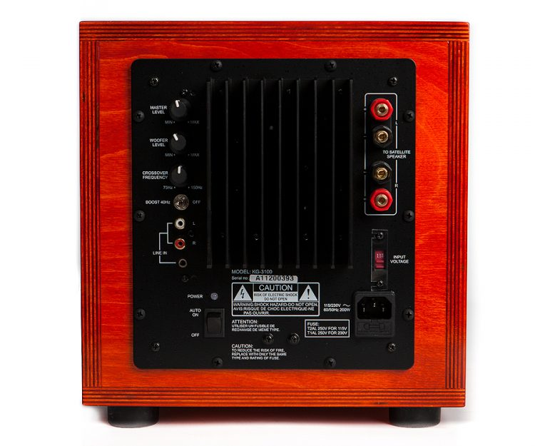 Specimen Satellite Subwoofer dark orange