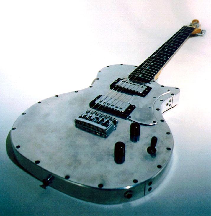 Specimen Custom Aluminum Albatross Guitar