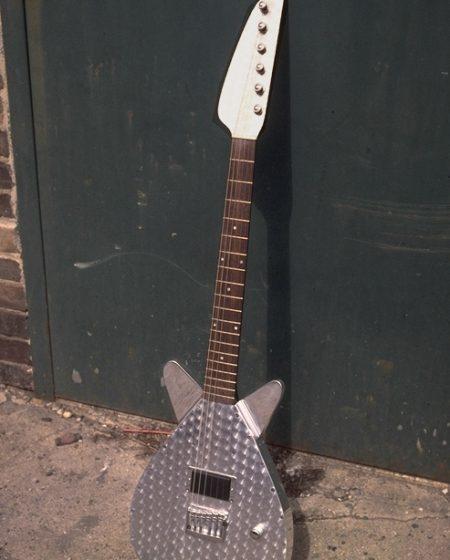 Specimen Custom Aluminum Maxwell Guitar