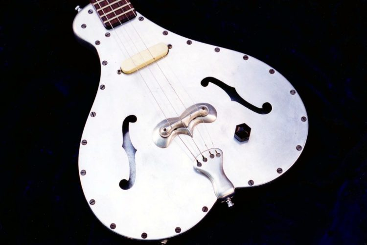 Specimen Custom Aluminum Electric Tenor Guitar