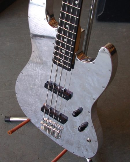 Specimen Custom Aluminum Jazz Bass