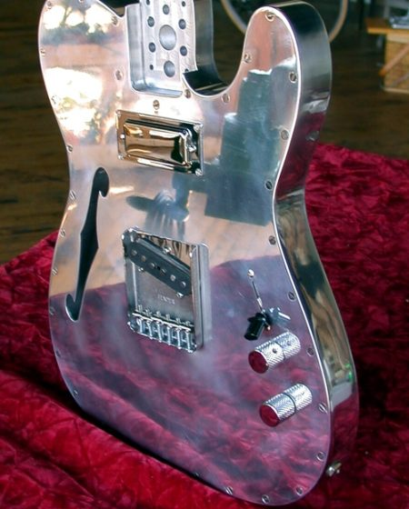 Specimen Custom Aluminum Guitar
