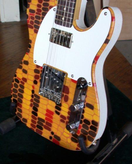 Specimen Indian Corn Tele-style Guitar