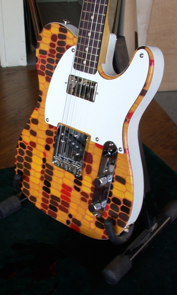 Specimen Indian Corn Tele-style Guitar