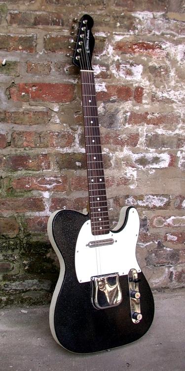 Specimen Custom Silvertone Style Telecaster Guitar