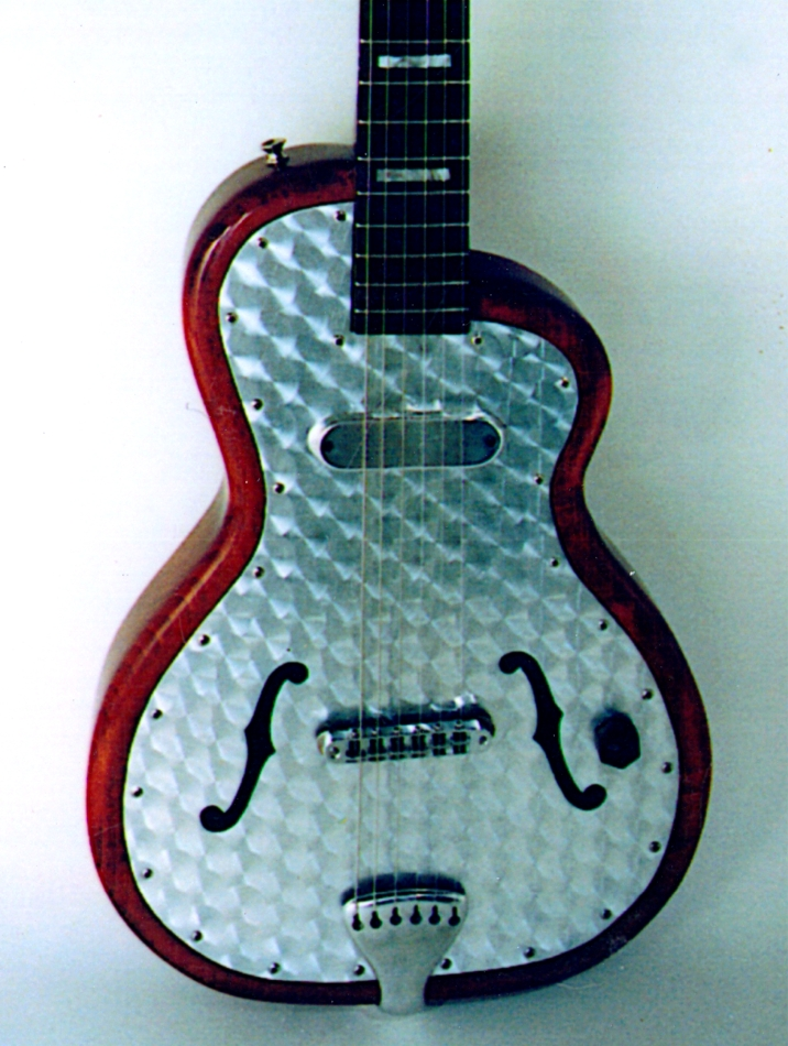 Specimen Custom Hybrid Aluminum Guitar