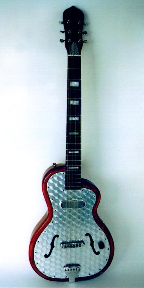 Specimen Hybrid Aluminum Guitar