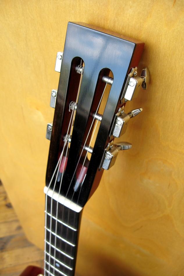Specimen Luddite Guitar Headstock