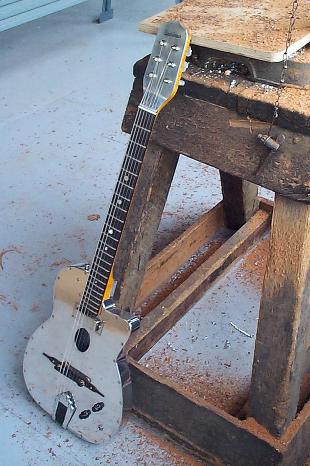 Specimen Aluminum Maccaferri Guitar