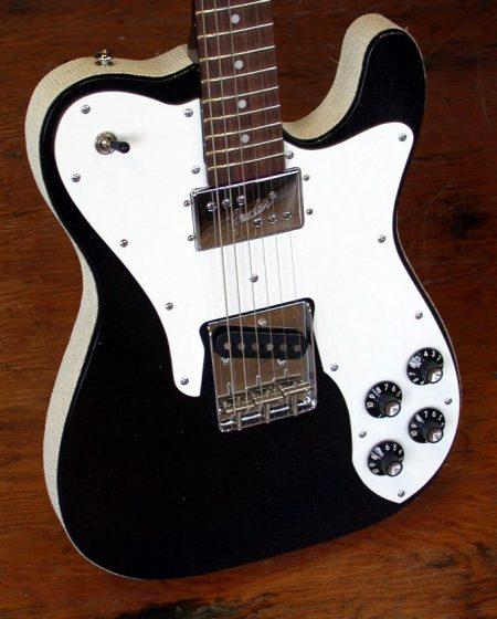 Schnellercaster Silvertone Style Custom Guitar