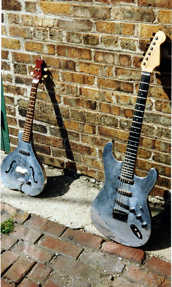 Specimen Custom Aluminum Stratocaster Guitar