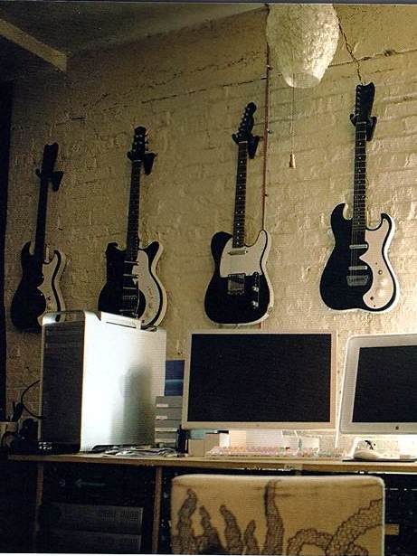 Specimen Silvertone Style Guitars at the Wilco Loft