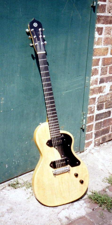 Specimen Yellow Pippin Guitar with TV Finish