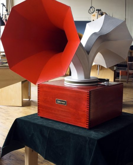 Specimen Custom Double Spinning Horn Speaker