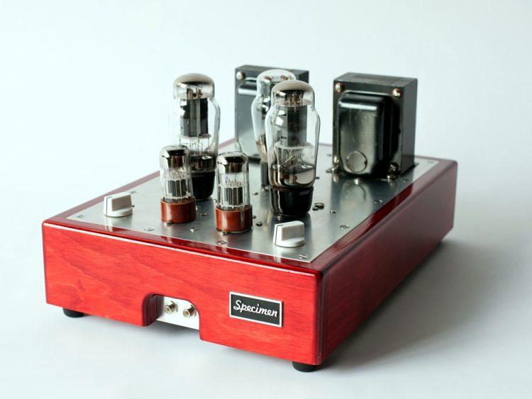 Specimen Custom Single-ended Hi-Fi Stereo Tube Amplifier