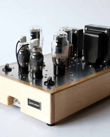 Pentode-driven Single-ended 2A3 Stereo Tube Amplifier