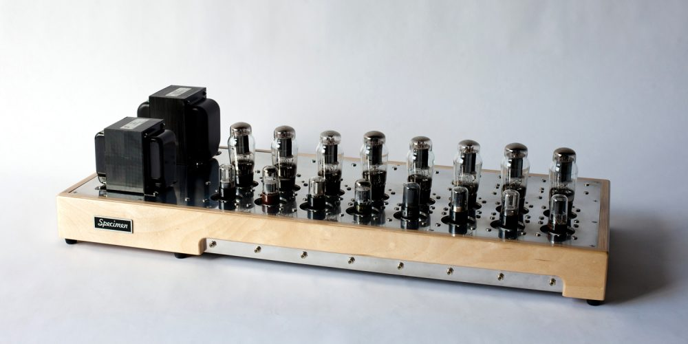 Single-ended Octoblock Tube Amplifier
