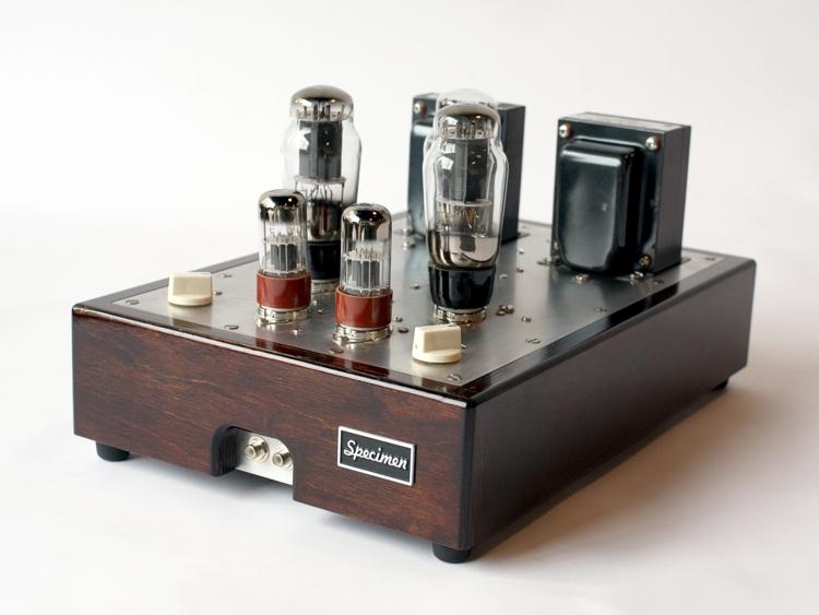 Tube Amplifier Hi Fi Stereo Dark Walnut Finish 705