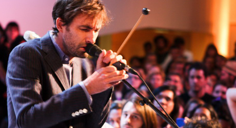 Andrew Bird & Ian Schneller's Sonic Arboretum at the Guggenheim Museum NYC 2010