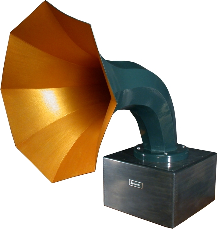 Specimen Single Horn Speaker