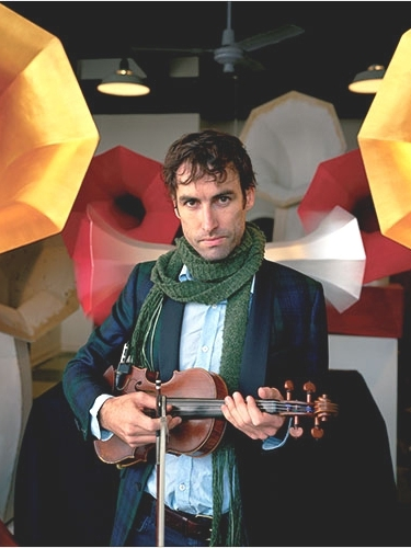 Andrew Bird and Specimen Horn Speakers