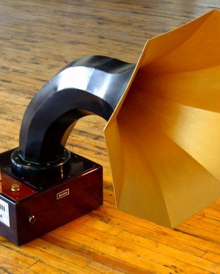 Specimen Horn Amp - Horn Speaker with built-in Tube Amplifier