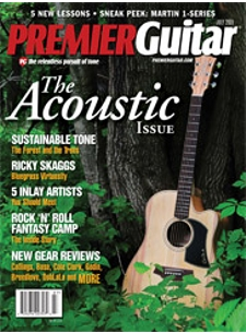 Premier Guitar Magazine features the Chicago School of Guitar Making