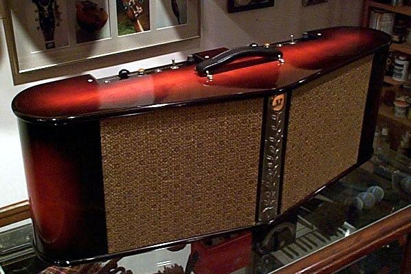 Specimen Stereo Instrument Tube Amplifier