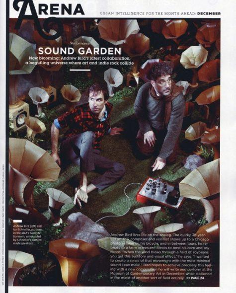 Chicago Magazine features Andrew Bird & Ian Schneller's Sonic Arboretum