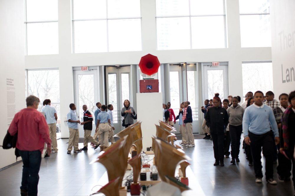 Andrew Bird and Ian Schneller's Sonic Arboretum Exhibit at MCA Chicago December 2011
