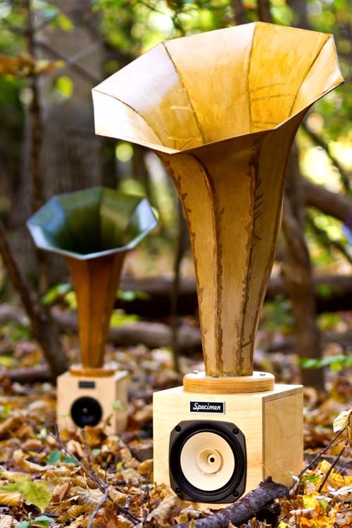 Specimen Lederhorn Audio Horn Speaker