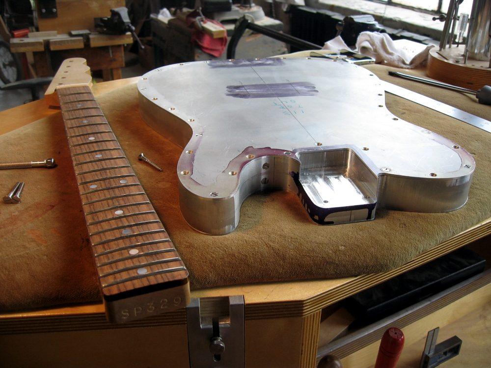 Making a Specimen Custom Aluminum Esquire Guitar