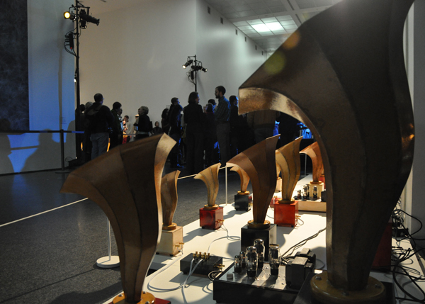 Pop Matters review of Andrew Bird and Ian Schneller's Sonic Arboretum show at MCA Chicago