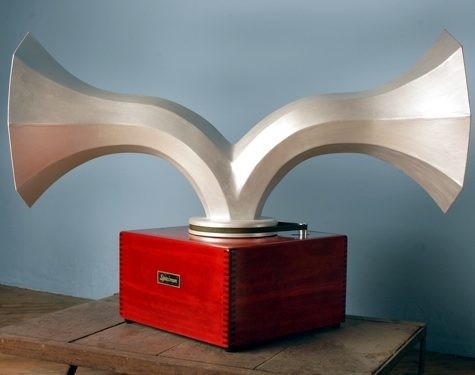 Original Janus Double Spinning Horn Speaker