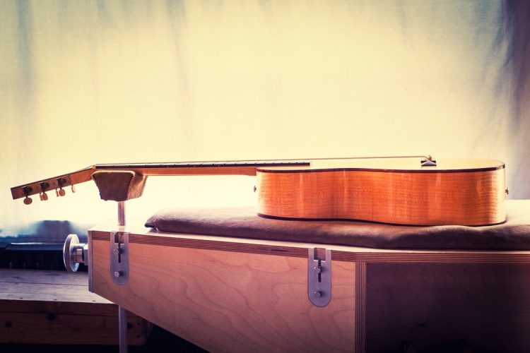 Specimen Acoustic Electric Guitar: The Amontillado