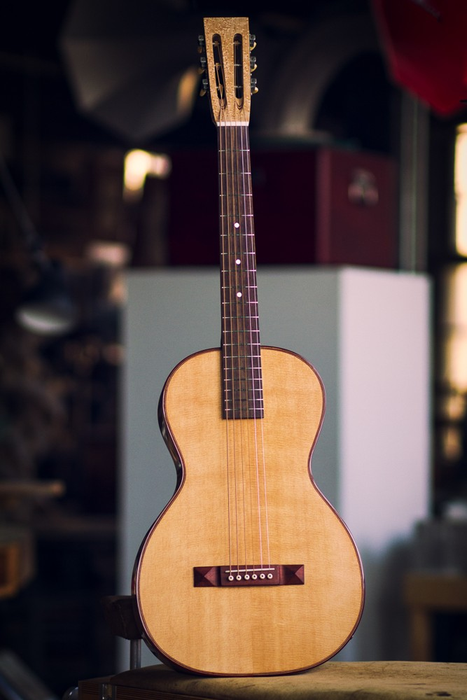 Specimen Acoustic Electric Guitar: The Amontillado