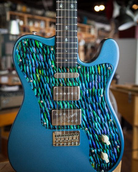 Specimen Custom Guitar for Franz Ferdinand Alex Kapranos