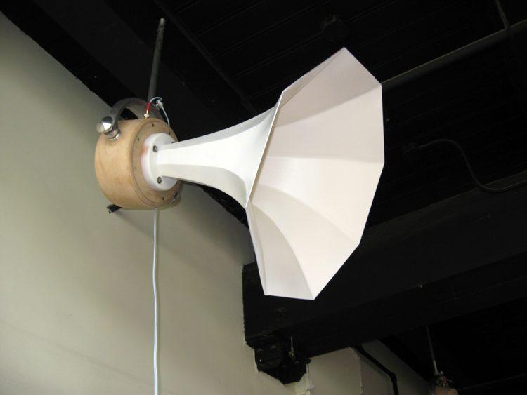 Specimen Gimbal Horn Speaker in progress