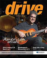 Subaru Drive Magazine: Fall 2013 featuring Ian Schneller of Specimen Products