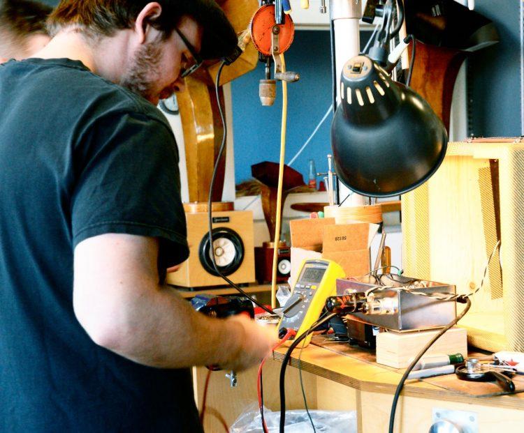 Intern Tube Amp Making