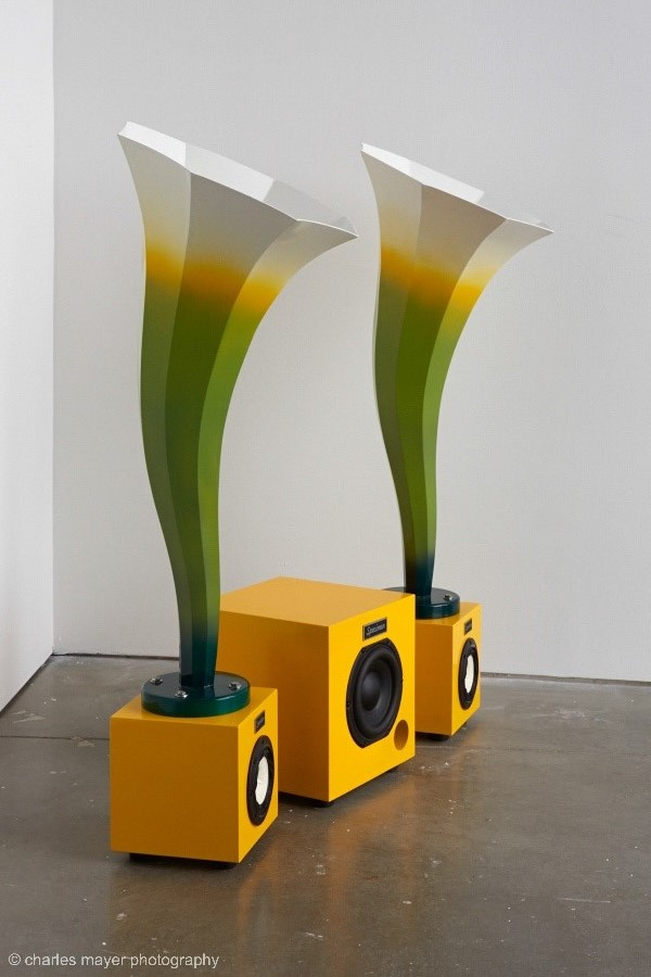 """The ICA """"Calla"""" a new special edition Specimen audio horn & sat sub woofer"""